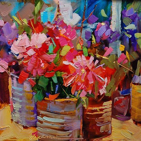 95 Best Art Paintings Botanical Floral Genre Images On Pinterest