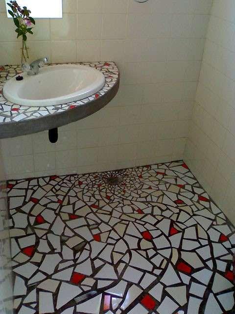 Bagni a mosaico, foto dei più colorati ed eleganti - Bagno a mosaico colorato