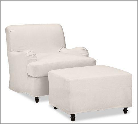 Carlisle Slipcovered Armchair