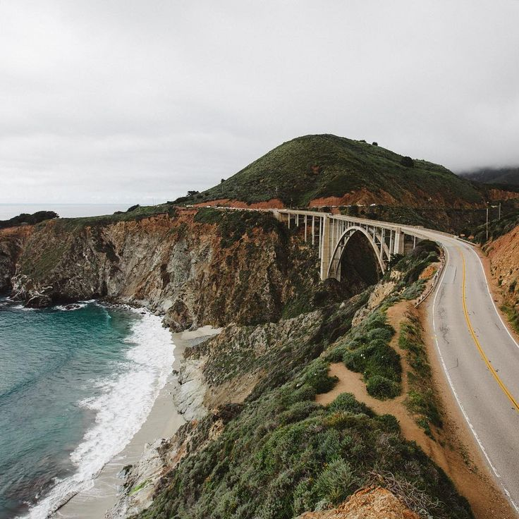 Classic views in Big Sur, California