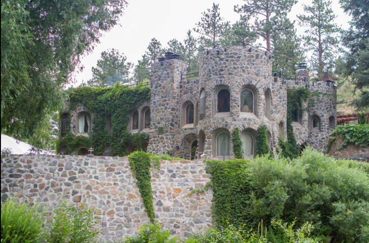 Dunafon Castle: Located in Morrison, Colorado in beautiful Bear Creek Canyon, this stunning seventeen-acre setting has 1500 feet of private trout ponds and is surrounded by an open space park with a walking, hiking, and mountain bike trails.