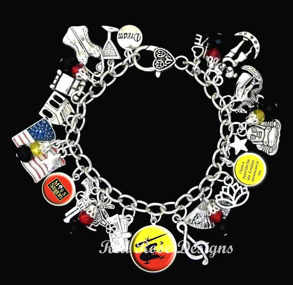 Miss Saigon Musical Themed Charm Bracelet