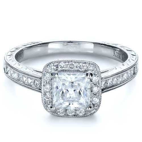 1000+ Images About Princess Cut Engagement Rings On