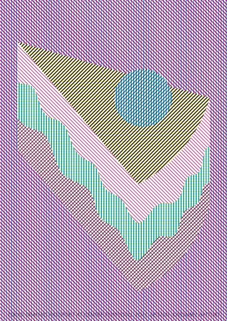 Kazunari Hattori [ケーキ], Tokyo Graphic Poster Exhibition