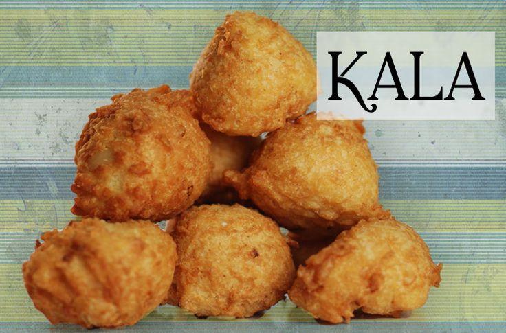 Kala is de Antilliaanse variant op de falafel. Wij gebruiken hiervoor black eyed peas of zwartoogbonen. Traditioneel moeten voor het malen éérst alle velletjes van de bonen worden verwijderd. Dit is een enorm karwei en neemt dan ook veel tijd in beslag. Wil je de kalá dus maken 'zoals het hoort', dan is het een tijdrovend recept. Maar …