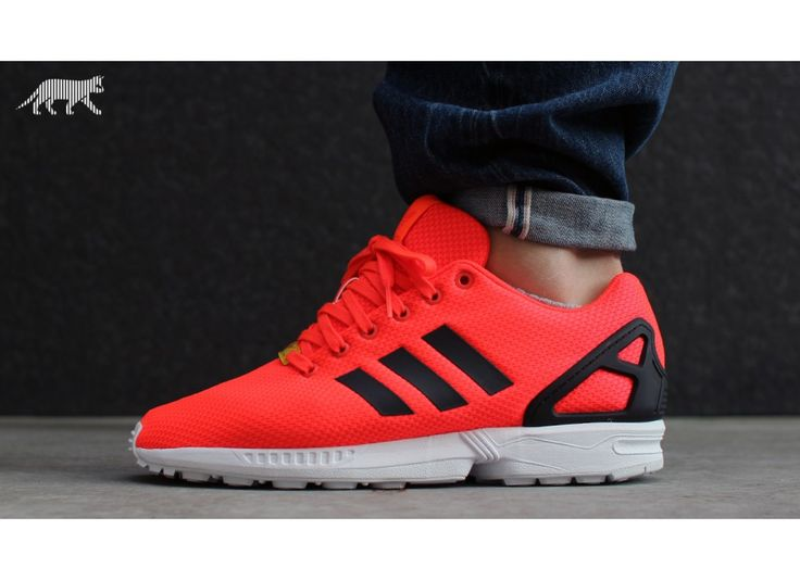 Adidas Zx Flux Navy And Orange