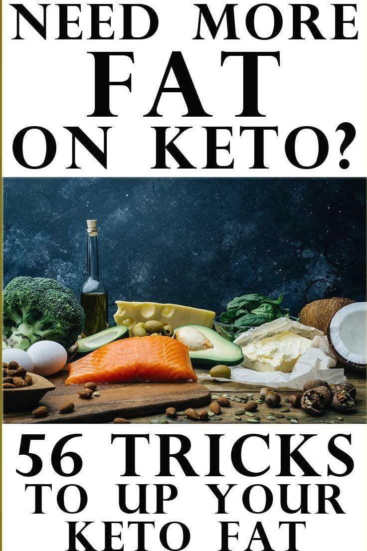 ways to add fat to keto diet