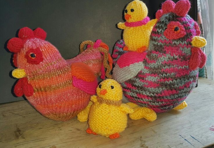 Patterns found in 'Knitted Farm Animals' by Sarah Keen