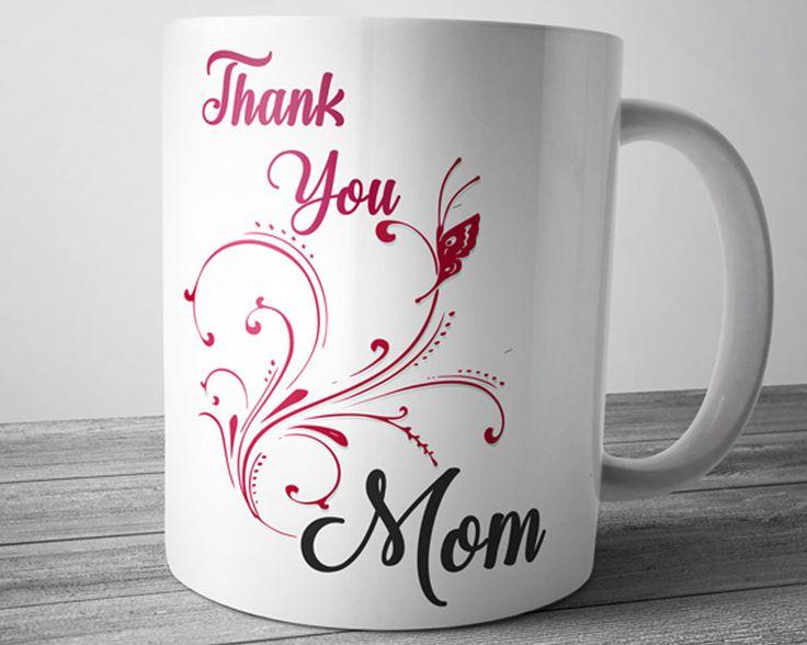 Thank You Mom Mütter Tag Becher, Mutter Geschenke, Mütter Tag Geschenk, Dankeschön, Mama Kaffee-Haferl, Geburtstag Becher, niedliche Tassen, einzigartige Kaffee-Haferl von JustPhoneCases auf Etsy https://www.etsy.com/de/listing/510391282/thank-you-mom-mutter-tag-becher-mutter