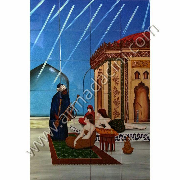 Kütahya, turk hamami, mescit, cami, mihrap, dekorasyon, cini, seramik, desenler, iznik, pano, mimari, tasarım, Osmanlı, Türk hamami, bathroom ceramic tiles, interrior, design, ottoman, decoration, decor, islamic, Turkish bath