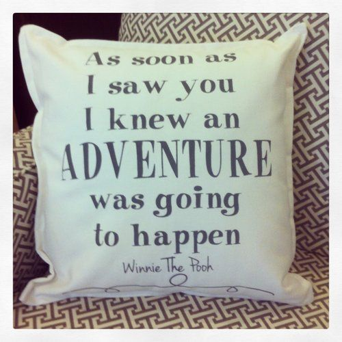 As soon as I saw you... Pillow  Perfect finishing touch for your nursery!