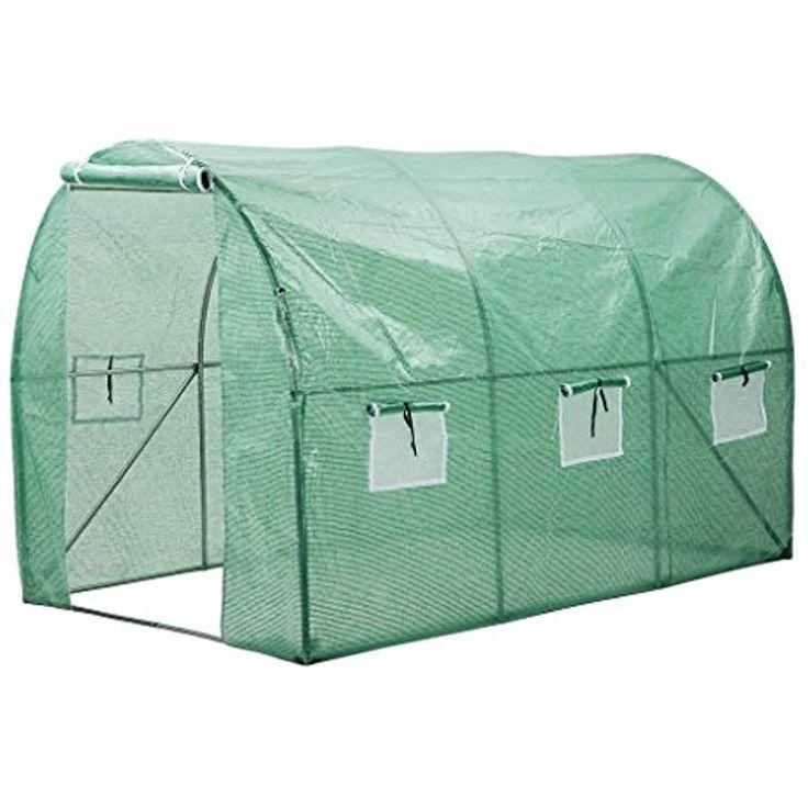 Finether Serre de Jardin Tunnel Serre de Jardin Transportable Tente Abri Cell Pour …