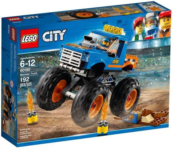Lego City Monster Truck Set 60180 Monster Trucks Lego City Lego