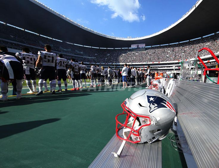 #5: WELCOME TO MEXICO CITY..Top 5 Photos from Patriots vs. Raiders presented by CarMax | New England Patriots
