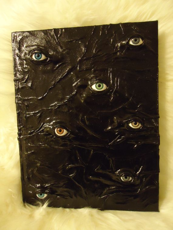 Book Of Shadows Cover Ideas : Journal book of shadows witch wiccan pagan eyegore