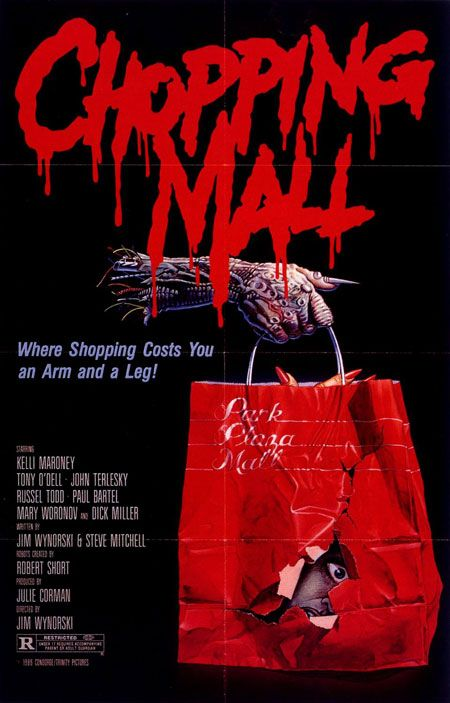 Chopping Mall Horror Poster