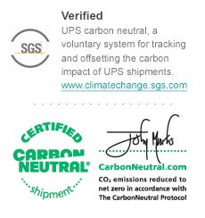 UPS carbon neutral shipping!