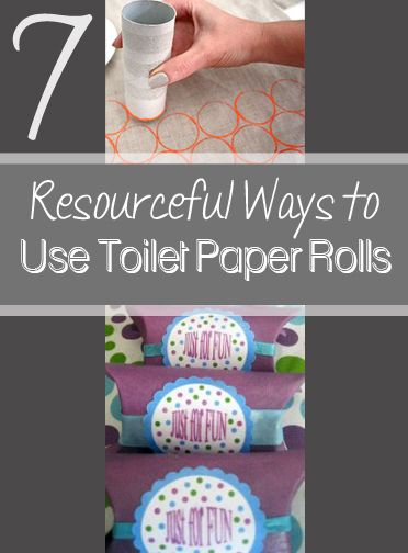how to make pom poms with toilet paper rolls