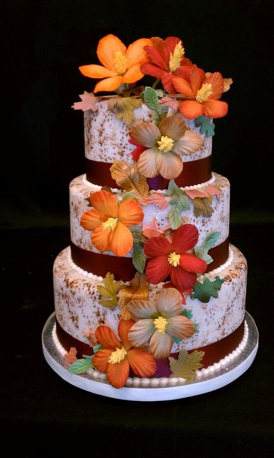 hibiscus wedding cakes 2441 best cake images on 15222