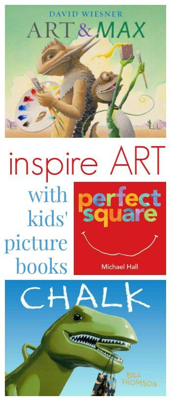 Best Kids Picture Books to Inspire Childrens Art