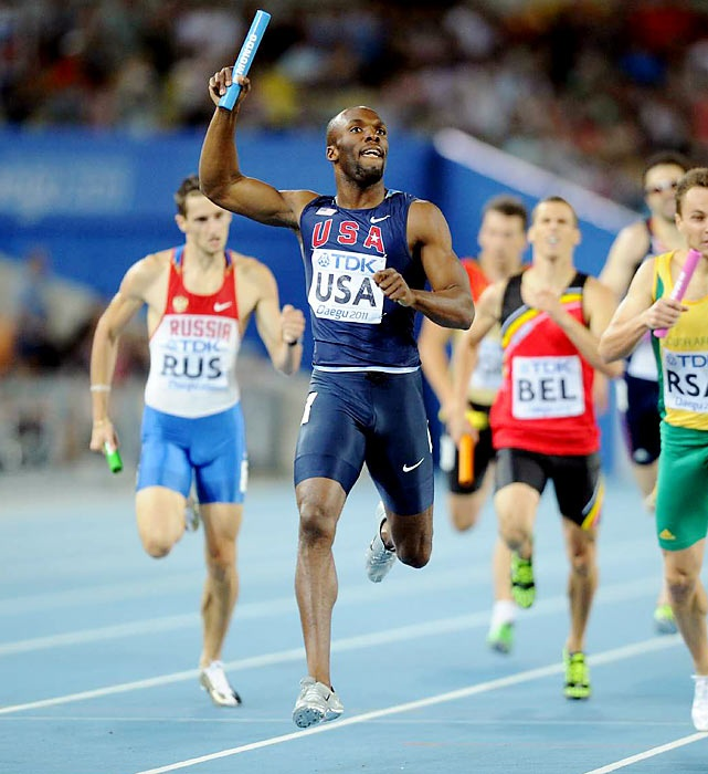 Track & Field Athletes To Watch for 2012 Olympics:  LaShawn Merritt, US,   relay teammate to chief rival Jeremy Wariner, the soon-to-be 26-year-old Merritt is the defending 400-meter Olympic champion, despite serving a 21-month ban following a positive drug test in 2010. With his suspension completed, Merritt is back on the track and ready to return to Olympic competition.
