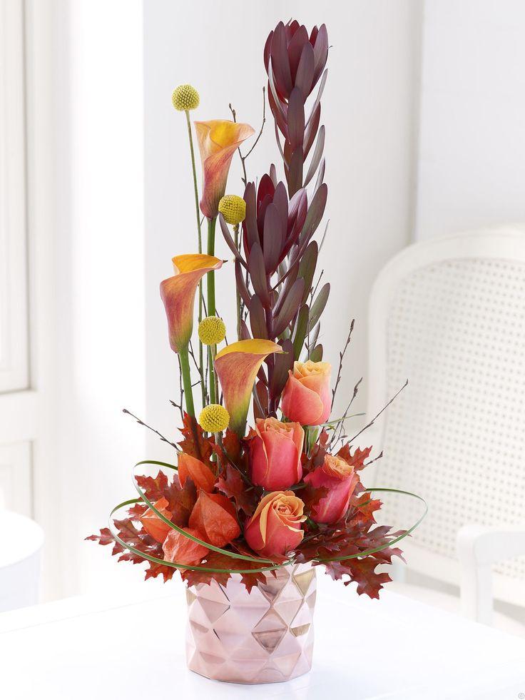 autumn contemporary arrangement