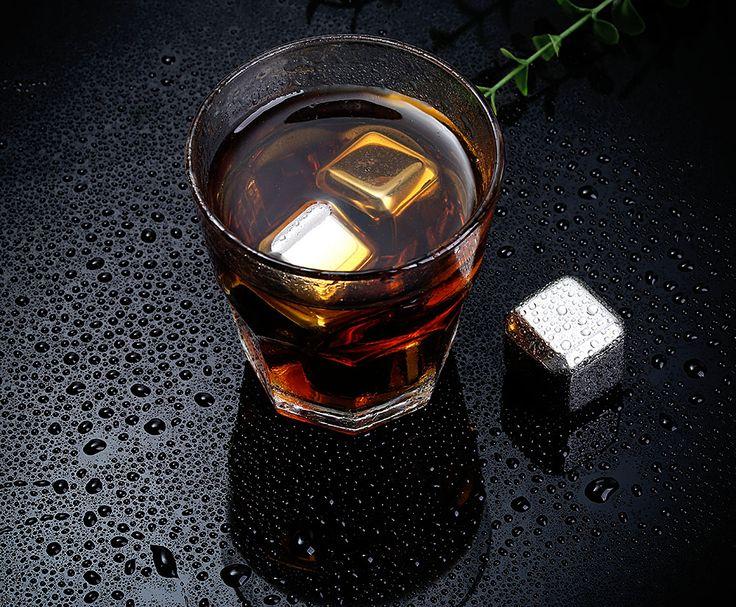 Je drankjes lekker koel serveren met RVS IJsblokjes! Wel een originele manier :-) Nu 4 stuks voor €5,39  http://gadgetsfromchina.nl/rvs-ijsblokjes-e539/  #Gadgets #Gadget #Aanbieding #RVS #IJsblokjes #IJsblokken #Ice #Cube #Icecube #drankjes #drankje #drinken #home #FUN #serveren #serve #chill #koud #Cool #lifestyle #Stainless #SALE #GadgetsFromChina #Gearbest #China
