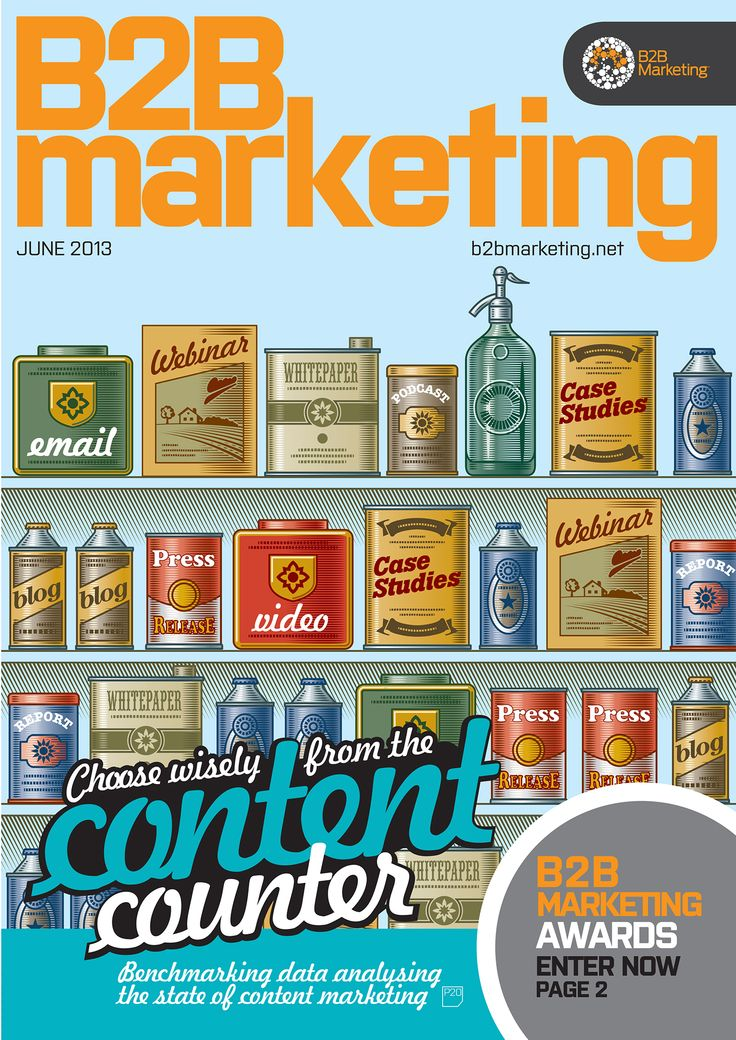 In June's B2B Marketing magazine we went content crazy unveiling our new 'State of Content Marketing 2013' infographic, benchmarking report and feature.