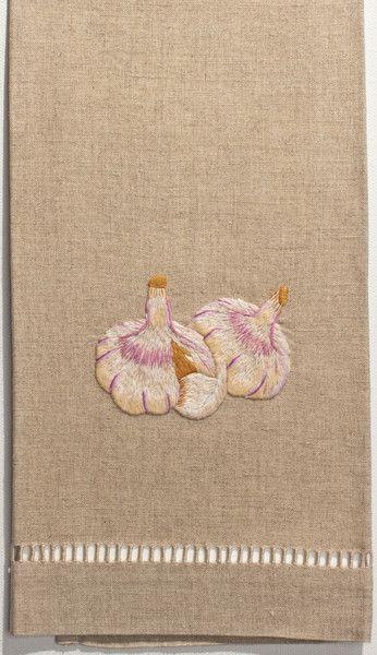 GarlicHand Towel - Natural Linen