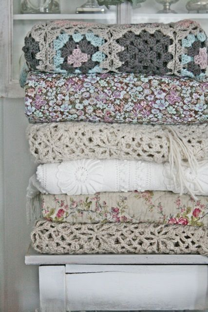 One day I will have a stack of lovely home made blankets. Oh yes I will.