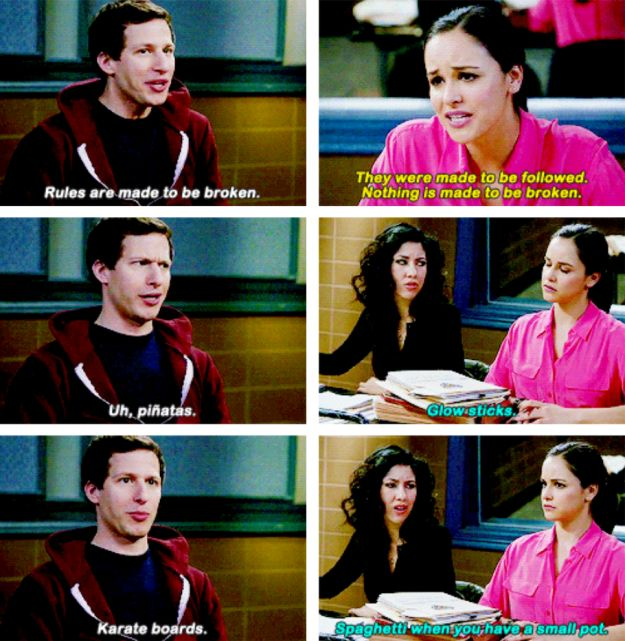 "Literally Just 21 Fucking Funny Things From ""Brooklyn Nine-Nine"""