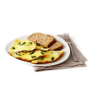 What a great way to get high quality protein and vegetables early in the day.  Add a cup of berries for a super delicious breakfast!  Broccoli & Parmesan Cheese Omelet