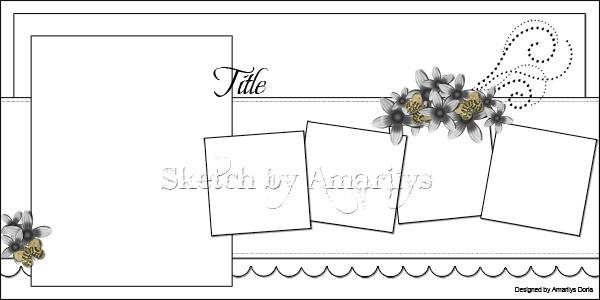 Sketch by Amarilys Doria (2 page/5 photo sketch)