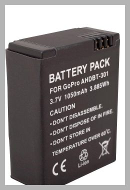 Urban Factory - Battery for GoPro Camera and Camcorder - Black (VV3582) - Price History