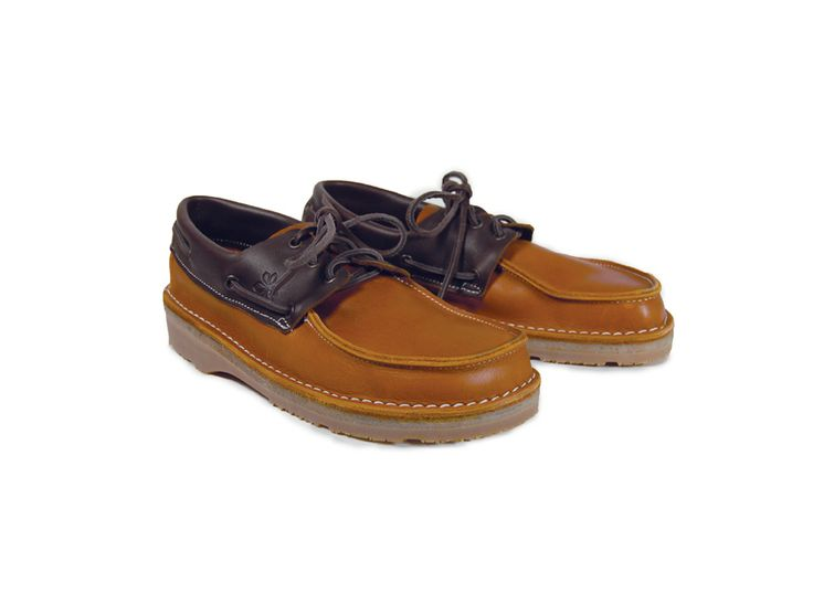 Handmade leather deck shoes, quality materials are combined with traditional techniques to produce this attractive pair of shoes.  Made in Devon, UK  http://www.madecloser.co.uk/clothes-accessories/footwear/deck-shoe  #madecloser #ukmade #britishmade