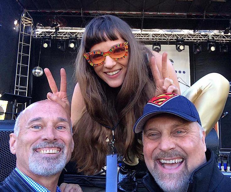 With Chelsea Shag at the Atlanta Dogwood Festival...