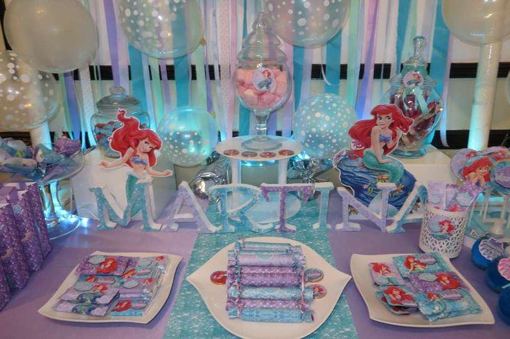 Little Mermaid Disney Birthday Party Ideas   Photo 17 of 20