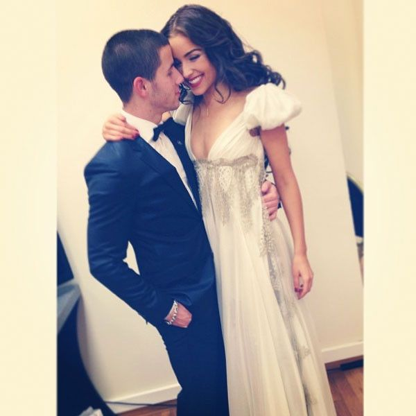 Nick Jonas and Olivia Culpo.... this literally makes me want to die. NICK! YOU DIDNT WAIT FOR ME