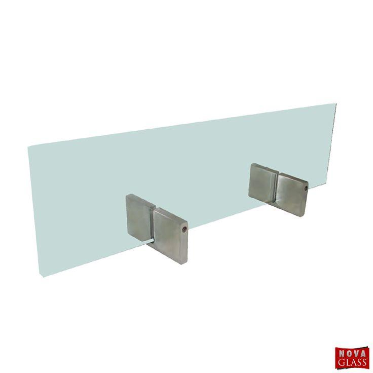 Μεταλλικό στήριγμα για κρύσταλλο τζακιού Κωδ. S8877 | Nova Glass e-shop