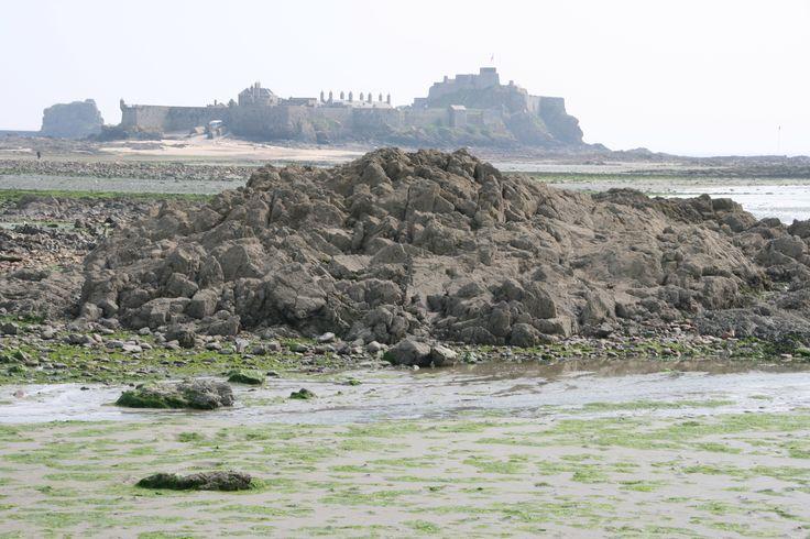 Elisabeth Castle vor St Helier - Jersey