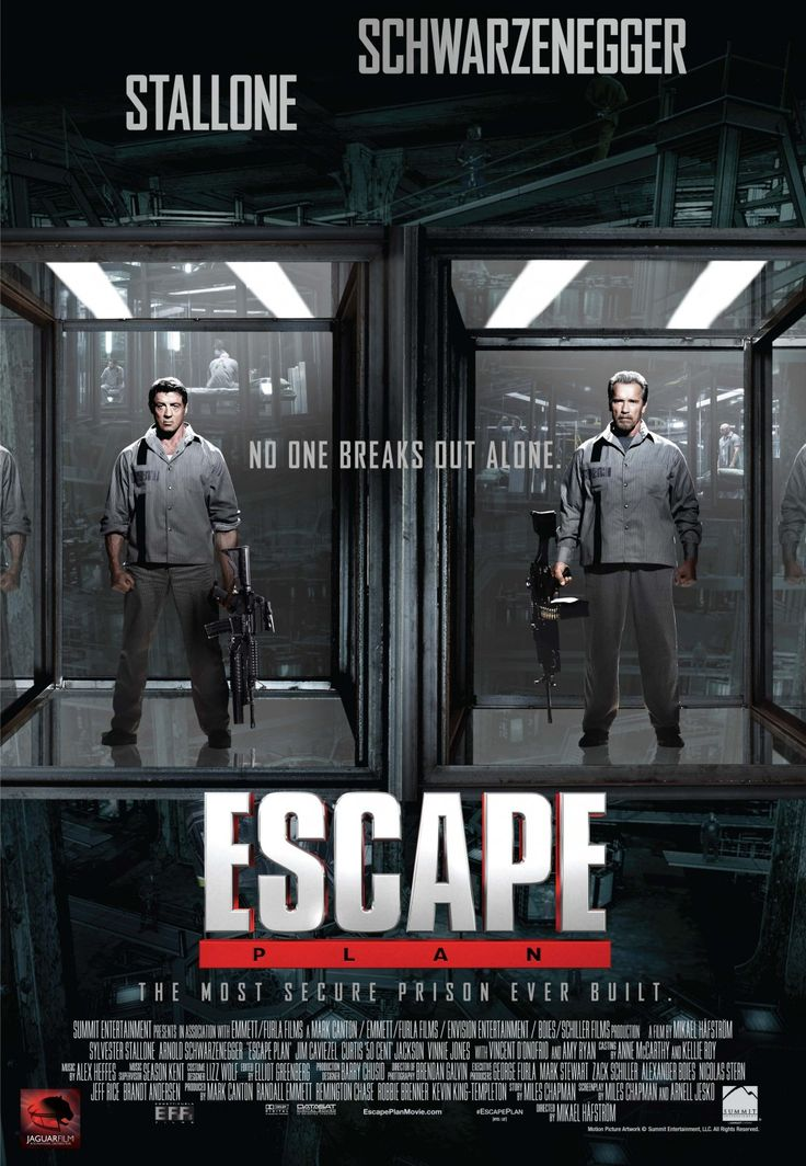 "The film Escape Plan is about Breslin (Sylvester Stallone) who breaks out of prisons for a living. His boss is Brims (Graham Beckel). Hush (50 Cent) and Abigail (Amy Ryan) work with Breslin (Sylvester Stallone). Dr. Kyrie (Sam Neill) is the doctor of the prison. Rottmayer (Arnold Schwarzenegger) and Javed (Faran Tahir) are incarcerated in the secure prison.... <a href=""http://www.chicagonow.com/sarah-takes-on-movies/2013/10/movie-review-escape-plan/"" class=""more-link"">Read more »</a>"