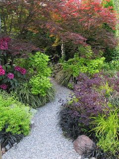 Great Plant Combinations - traditional - landscape - Seattle - by Alyson Ross Markley