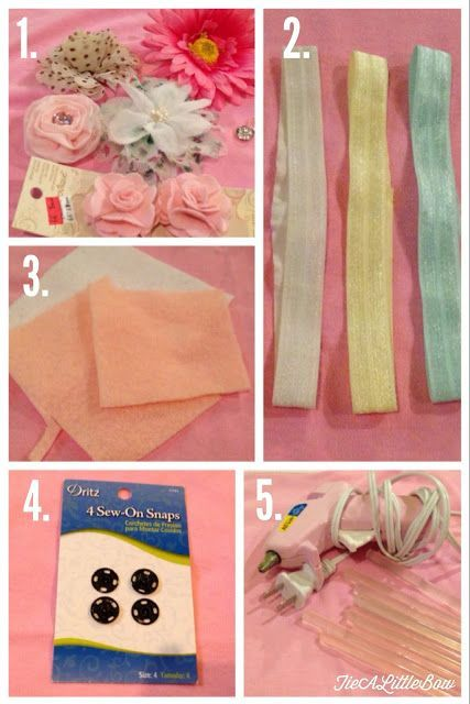 Tie A Little Bow: Easy DIY Headbands for Baby! These were so easy, I'm kicking myself for not making them sooner!.