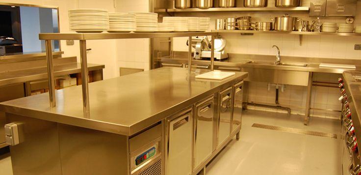 42 mejores im genes de cocinas industriales en pinterest for Fotos de cocinas industriales