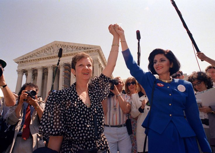Norma McCorvey and her attorney Gloria Allred in 1989 (Picture: AP)  Norma McCorvey, the woman whose landmark case led to abortion being legalised in the US, has died aged 69. McCorvey was represented under the pseudonym 'Jane Roe' in the now-historic Roe v Wade case in 1973. This Humans...
