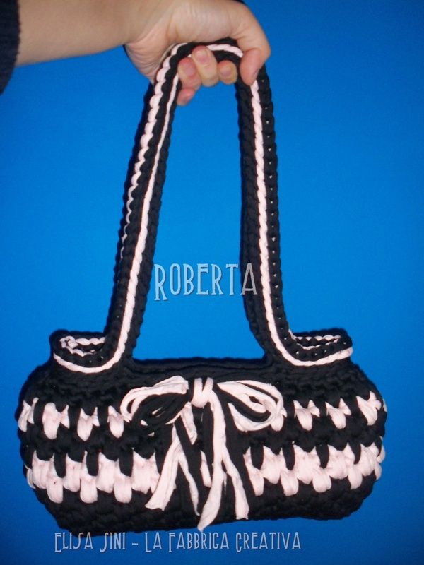 Borsa in fettuccia Roberta