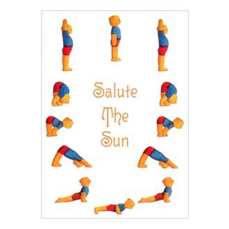 49 best images about sun salutation on pinterest  yoga