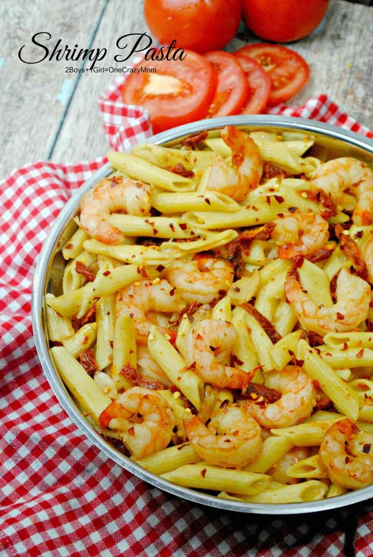 Shrimp Pasta Dinner for the win ~ Perfect for a Date Night #Simple #Recipe #Delicouse #ad