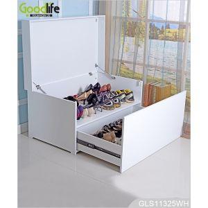 Neue Ankunft Luxusmöbel sitzHolzSchuh Veranstalter Schuhschrank GLS18818