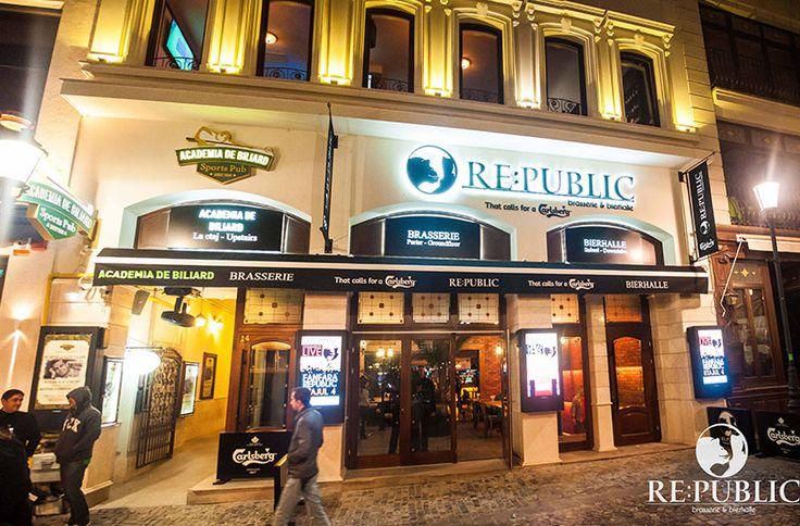 BUCHAREST - RE:PUBLIC, brasserie, beer house, coffee shop, restaurant